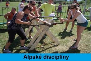 Alpské disciplíny