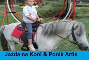 Jazda na Koni & Poník Artis