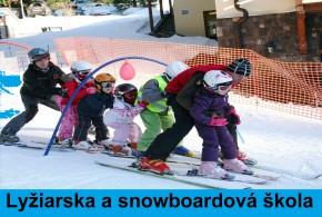 Lyžiarska a snowboardová škola