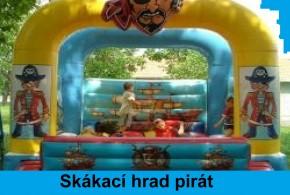 Skákací hrad pirát